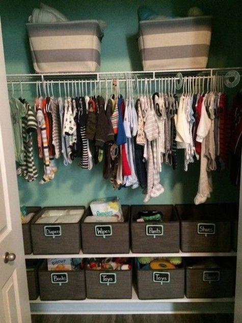 Awesome Kids' Closet Organization Ideas | ComfyDwelling.com