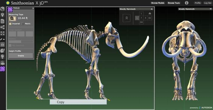Smithsonian X 3D files available for download and printing