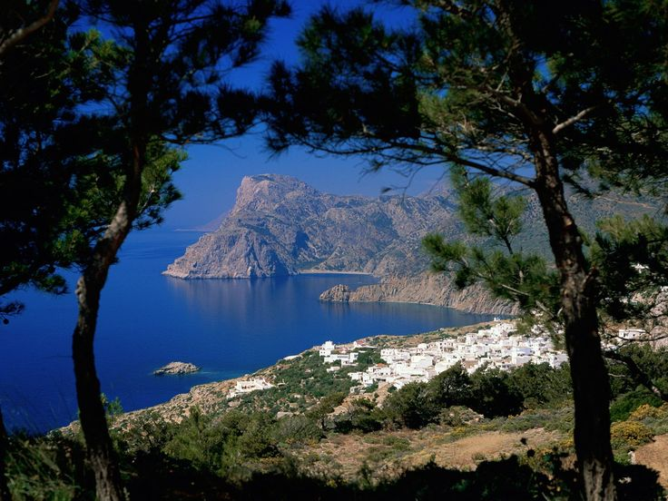 Mesohori Karpathos Dodecanese Islands Greece