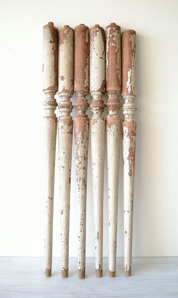 Best Set Of 6 Salvaged Antique Balusters Spindles By 400 x 300