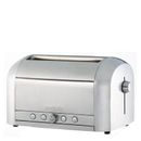Magimix 11536 4 Slice Brushed Toaster - The Magimix 4 Slice Brushed Toaster is a stylish in design with a shiny brushed finish and contemporary curves that will suit any kitchen décor. Boasting four extra wide slots, the classic toaster wi http://www.MightGet.com/january-2017-11/magimix-11536-4-slice-brushed-toaster-.asp