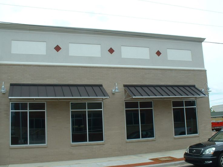 Commercial Building With Awnings Google Search Diy
