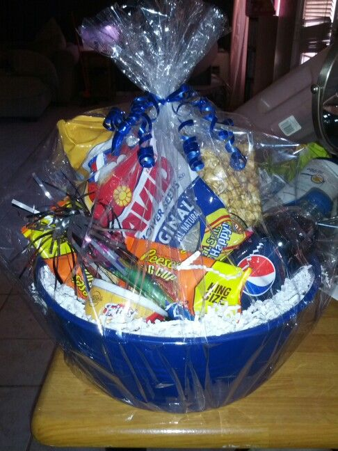 146 best teenager basket images on pinterest gift baskets gift teen snack basket easter basket ideaseaster negle Image collections