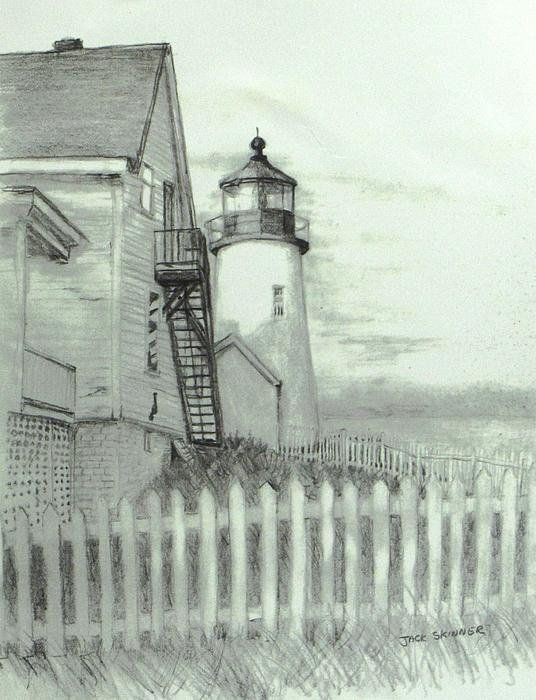 Pemaquid lighthouse Drawing