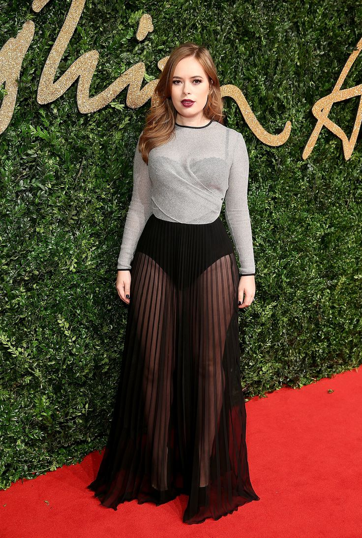 Tanya Burr aux British Fashion Awards