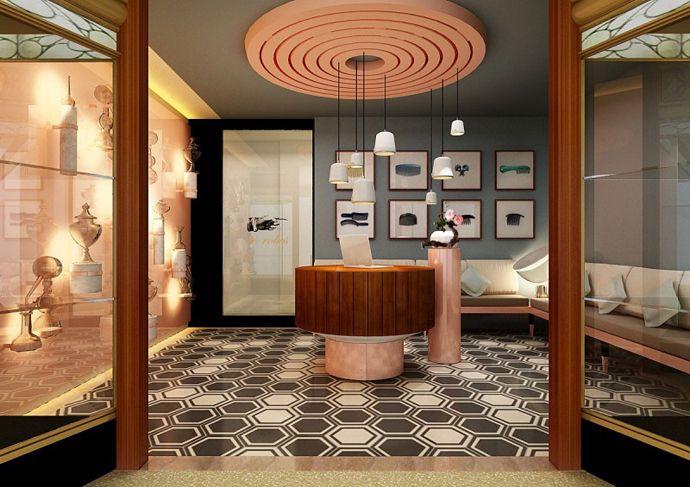 Cozy and Eclectic Interior Design: QT Sydney Hotel by Woodhead, Sydney, Australia   DesignRulz.com