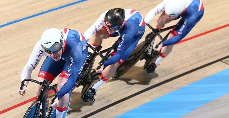 March 1 2018 - Jason Kenny wins silver on his return to international competition alongside Jack Carlin, Ryan Owens at the 2018 UCI Track Cycling World Championships