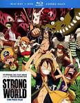 NEW - One Piece Film: Strong World (Blu-ray/DVD Combo)
