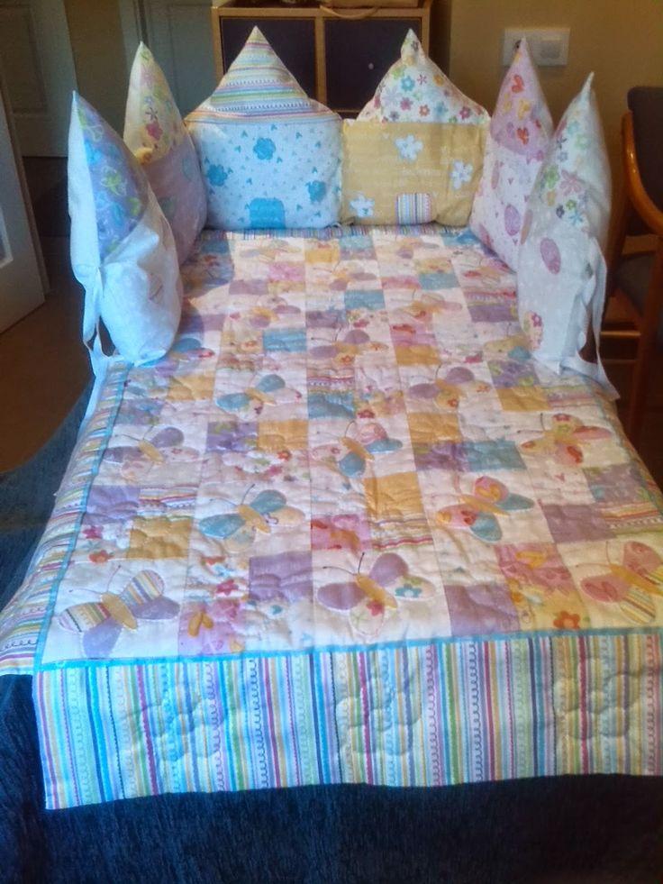 M s de 1000 ideas sobre protectores de cuna en pinterest cunas faldas para cuna y ropa de - Protectores para cama cuna ...