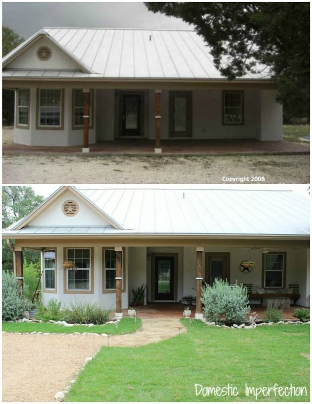 Front Yard Before & After