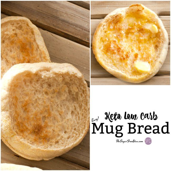 This Keto Low Carb Mug Bread Can Be Made In Under 2 Minutes It