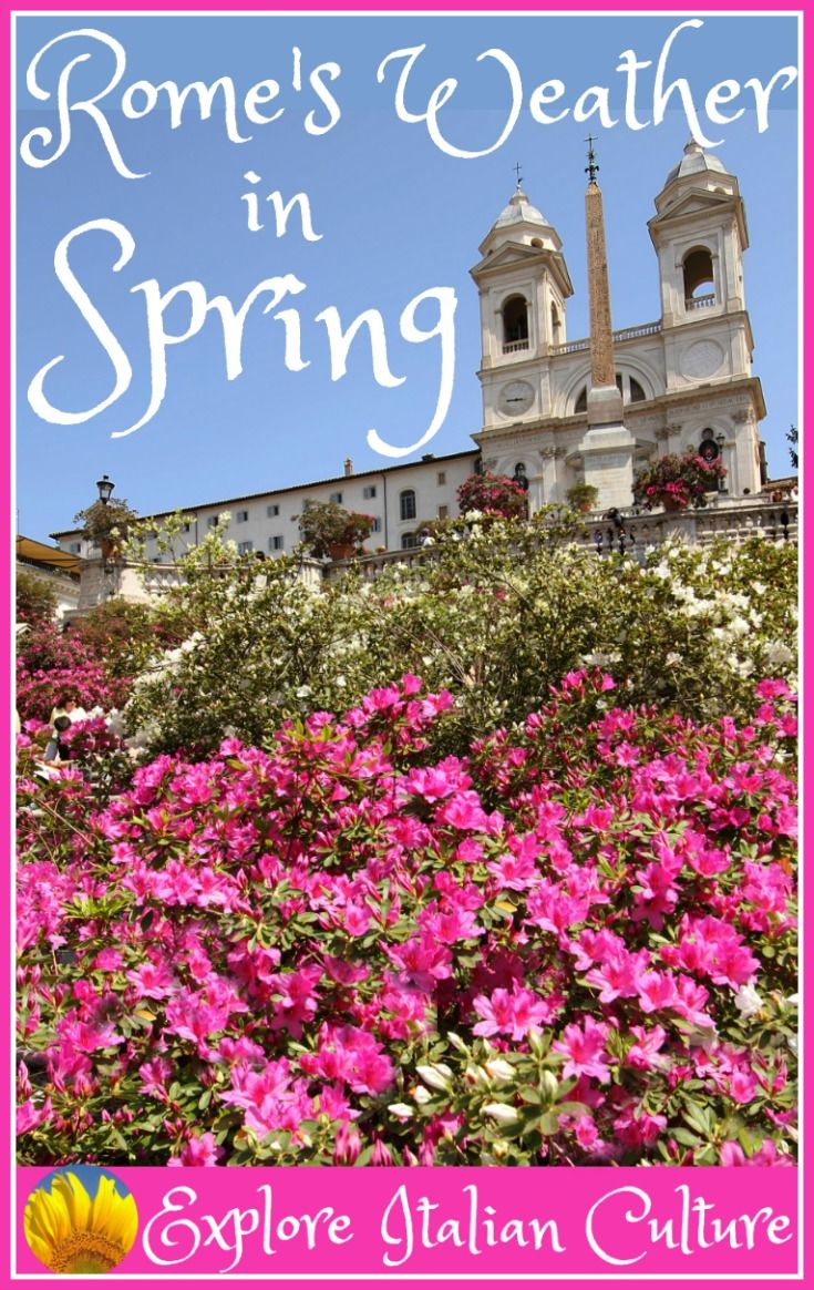 Rome's weather in Spring - what to expect.