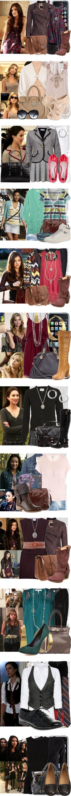 """Pretty Little Liars[season 1]"" by elenadobrev90 ❤ liked on Polyvore"
