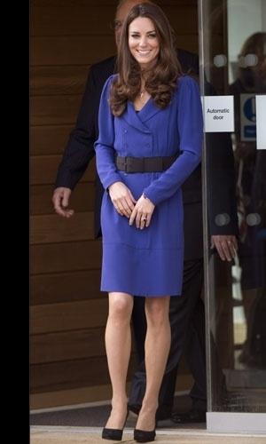 Kate Middleton in #blue navy