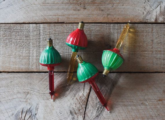 Vintage Bubble lichten, Tree Lights, Vintage Christmas Tree Lights, Bubble lichten, vakantie decoratie, ornamenten & accenten