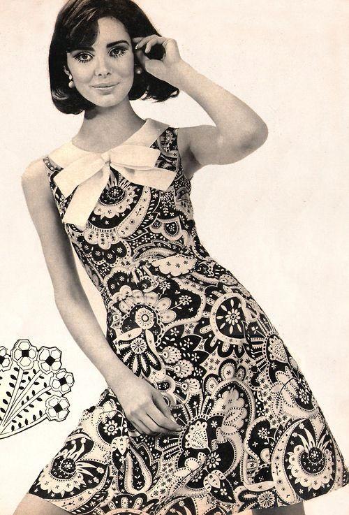 1960s dresses fashion