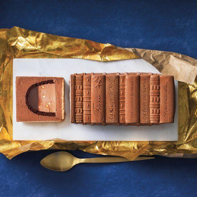 Bûche de Noël glacée chocolat, Picard
