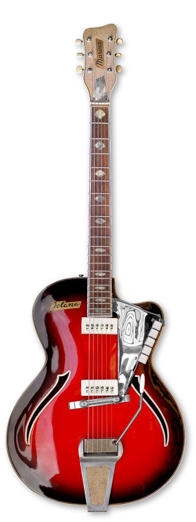 Советские гитары: Форумы / Электрогитары / Jolana Marina