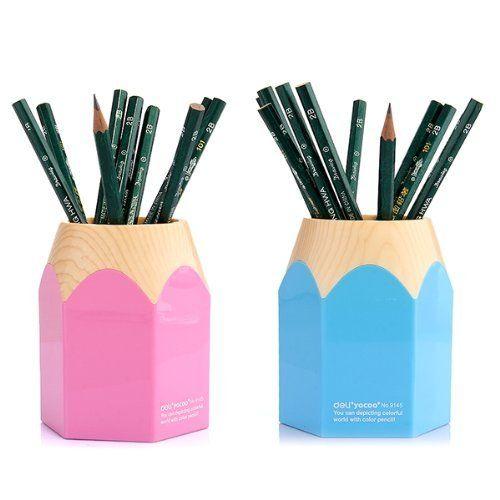 Creative Desk Pen Pencil Organiser Cup Pencil Organizer