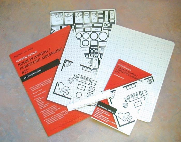 Magnetic Room Planning Furniture Arranging Kit No More