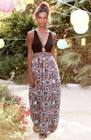 FELICITY & COCO Printed Maxi Dress (Nordstrom Exclusive) (Regular & Petite)   Nordstrom