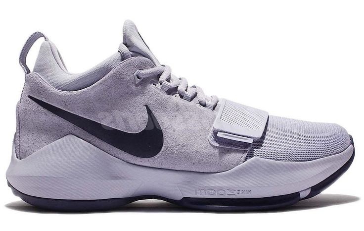 Nike Paul George 1 Glacier Grey Nike will continue realizing the Paul George first sneakers signature with the Nike PG