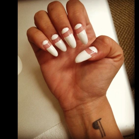 Fancy Oval Nails Tumblr Mold