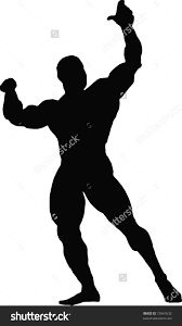Image result for Muscle Silhouette