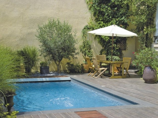 Mini piscine maxi plaisir for Deco jardin miniature