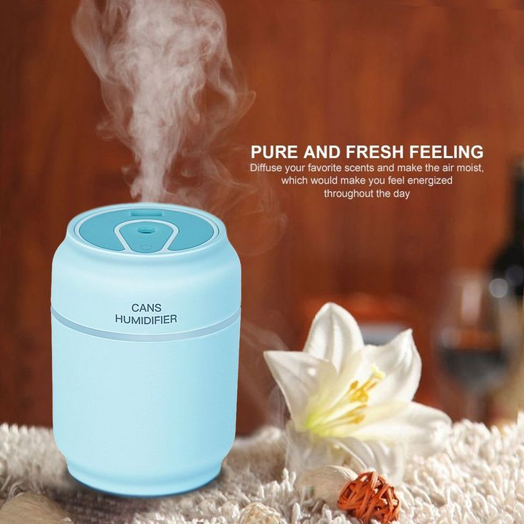 Cool Mist Humidifier,Sysmart Ultrasonic Small Humidifier,Air Aromatherapy Car Humidifier with Auto Shut off Safety Protection for Office Home Bedroom Living Room Study Yoga Spa (Sky-Blue)