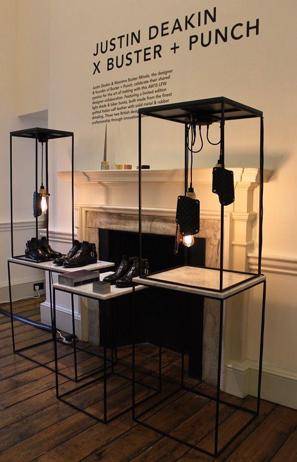 "JUSTIN DEAKONxBUSTER +PUNCH, London, UK, ""British Craftsmanship under one roof"", pinned by Ton van der Veer"
