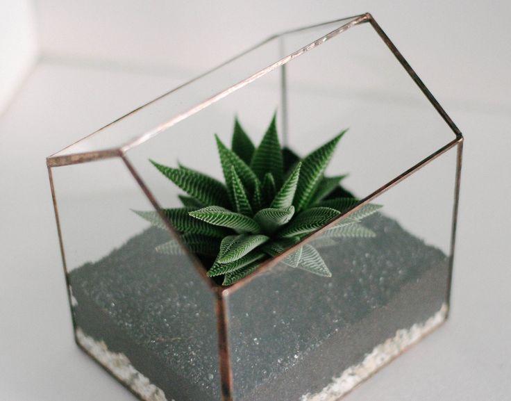 Флорариум домик