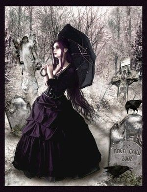 Victorian gothic beauty