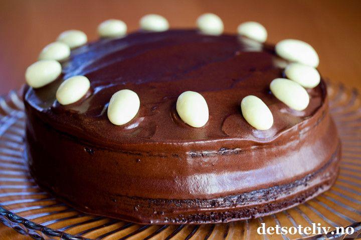 Sjokoladekake med gresk yoghurt | Det søte liv