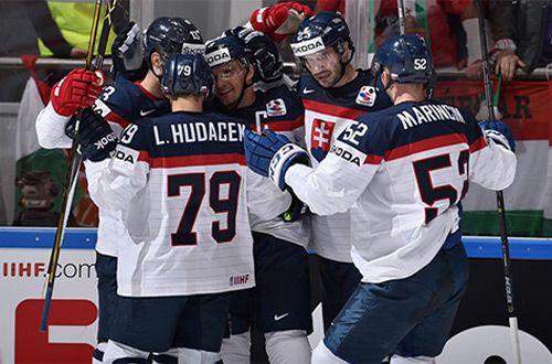 Словакия обыграла Венгрию на чемпионате мира по хоккею, обзор матча (видео)