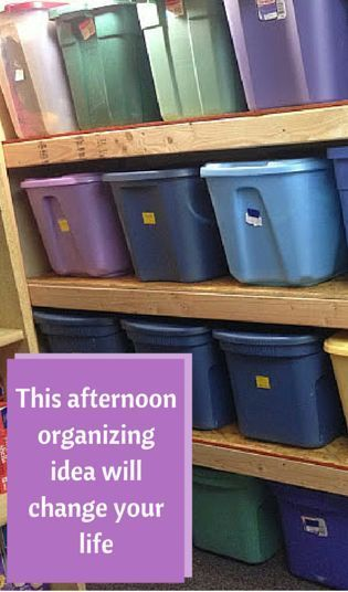 This afternoon organizing idea will change your life