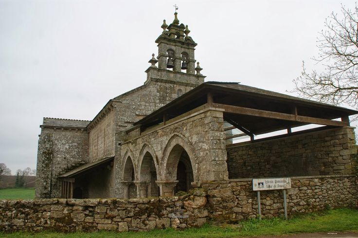 Iglesia San Salvador de Vilar de Donas, Portos, Lugo, Camino de Santiago