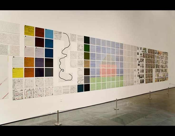 Epic Systems: Three Monumental Paintings by Jennifer Bartlett | Cleveland Museum of Art