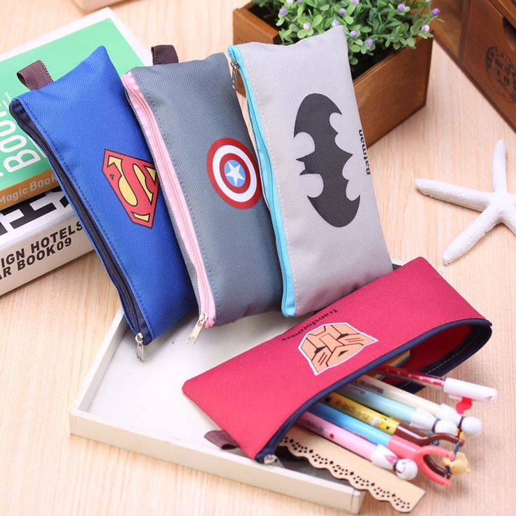 Cute Batman Superman school pencil case Cartoon hero pencil case for girls Kawaii stationery bag office school supplies escolar #>=#>=#>=#>=#> Click on the pin to check out discount price, color, size, shipping, etc. Save and like it!