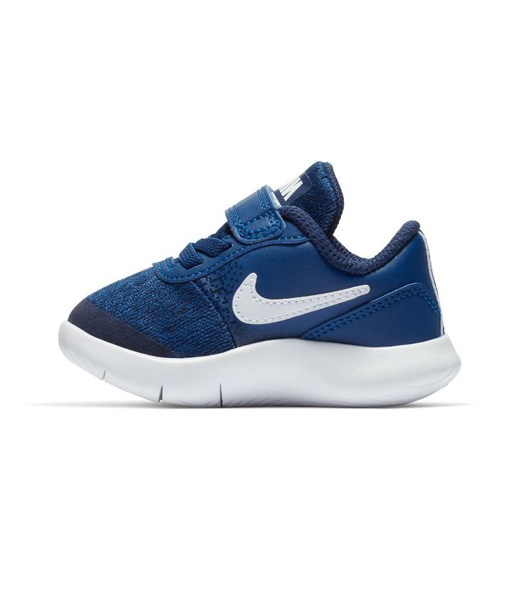 Nike Flex Contact TDV Toddler Gym Blue/White, Kids Footwear, www.oishi-m.com