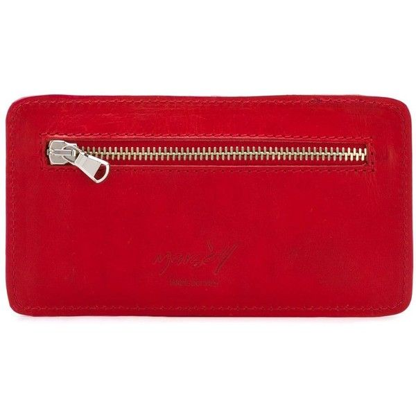 Marsèll Long Cardholder ($161) ❤ liked on Polyvore featuring bags, wallets, red, red bag, marsèll, red leather wallet, 100 leather wallet and leather bags