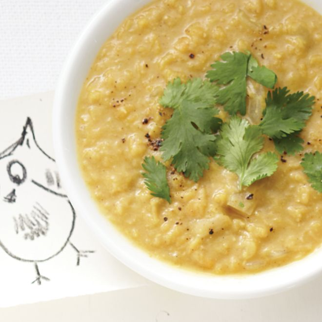 Curried Lentil-Coconut Soup