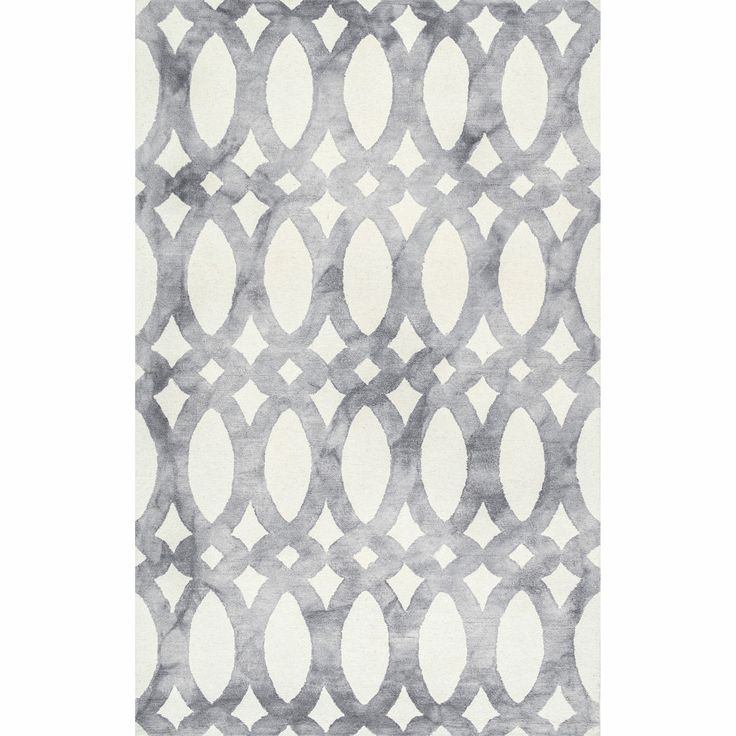 Tadashi Geometric Hand Hooked Wool Cream Dark Gray Area Rug Area Rugs Area Rug Sizes Geometric Area Rug