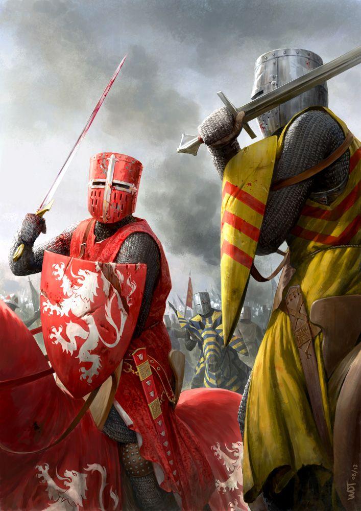 """A batalha de Lewes 1264 foi uma das duas principais batalhas do conflito conhecido como Guerra da Segunda Barões. Aconteceu em Lewes, em Sussex, em 14 de Maio 1264. Ele marcou o ponto alto da carreira de Simon de Montfort, 6 º Conde de Leicester, e fez dele o """"rei sem coroa da Inglaterra""""."""