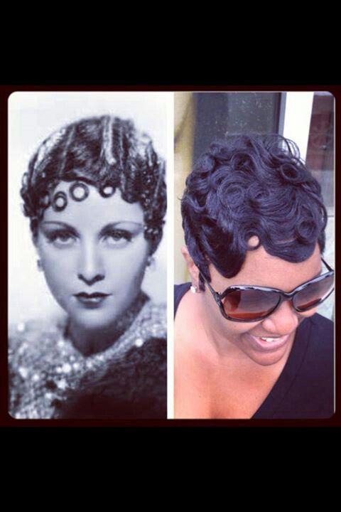Magnificent 1000 Images About Fingerwaves On Pinterest Finger Waves Hairstyle Inspiration Daily Dogsangcom