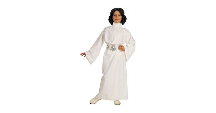 From the Star Wars Costume Collection, the Star Wars Princess Leia Kids Costume. The officially licensed costume from the original Star Wars movie. Princess Leia outfit comes complete with dress, belt and wig.For more products featuring Leia, visit our Princess Leia Collection.For a diverse collection of girl-empowering costumes, visit A Mighty Girl's Costume & Dress-up Clothing section.