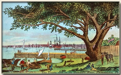 Very informative website: http://www.fishtownonline.com , not only revealing Philadelphia's neighborhood Fishtown, but also the history and establishing of the Pennsylvania Colony and the importance of William Penn Treaty with the Lenape Indians.