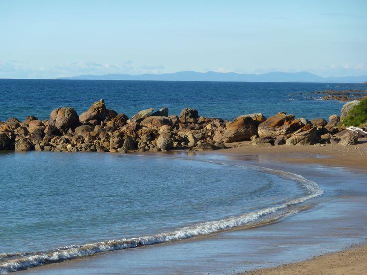 Penguin Beach in Tasmania