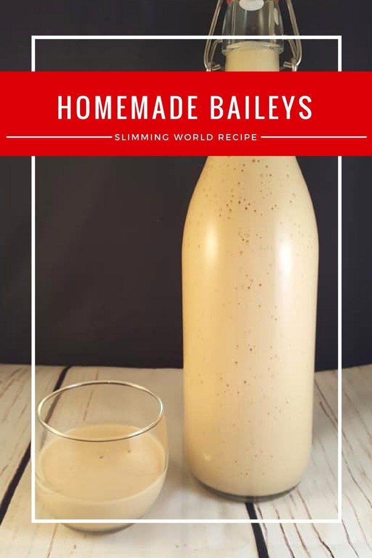 Low Syn Homemade Baileys - Slimming World Buffet