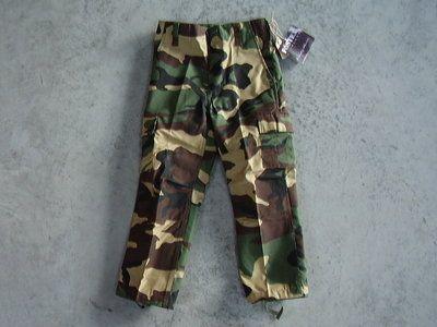 Kinder leger camouflage broek